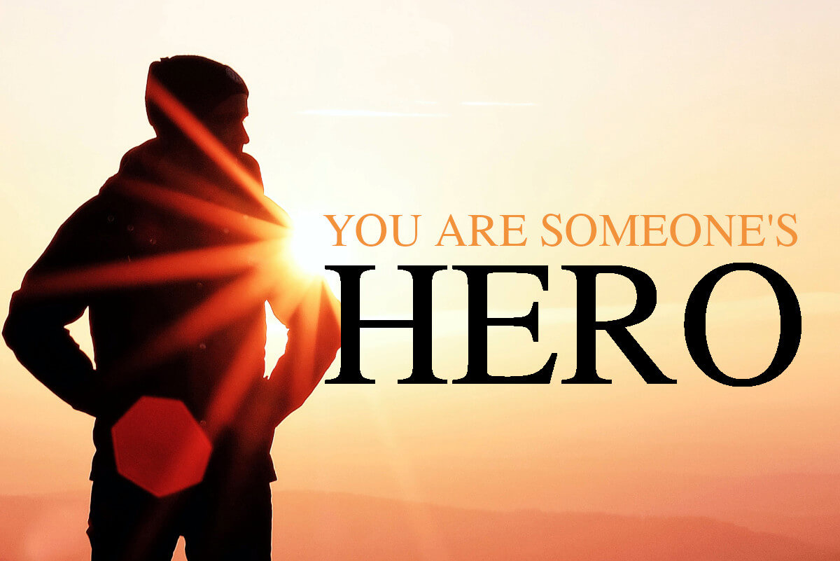 Feature Graphic for You Are Someone's Hero