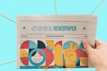 a newspaper titled Good Newspaper
